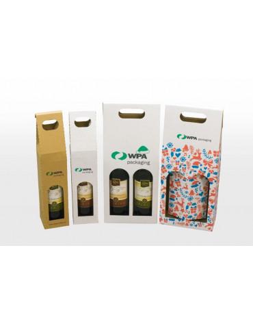 Krabice na víno (balení na 1,2 neo 6 lahví vína)