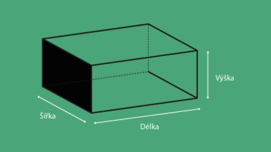 Jak správně změřit krabici?